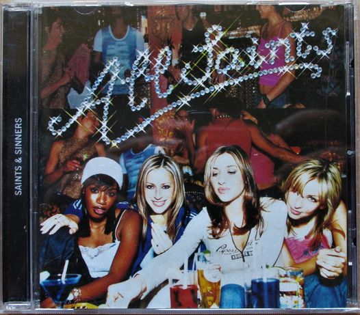CD - All Saints, Saints & Sinners, como novo