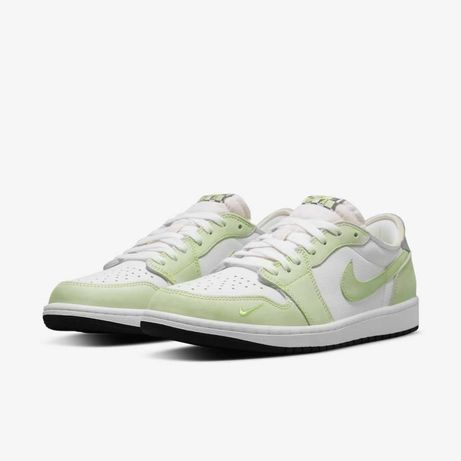 Nike Jordan 1 Retro Low Ghost Green tamanho 45