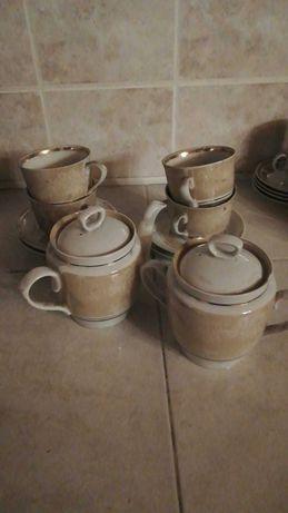 Porcelana, zestaw prl