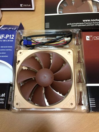 NOCTUA 6x Ventoínhas p/ PC como novas, s/ uso!
