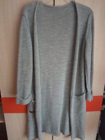 Modny szary kardigan/sweter.