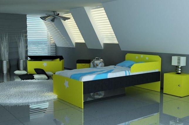 Łóżko dla dziecka z materacem 3 wymiary