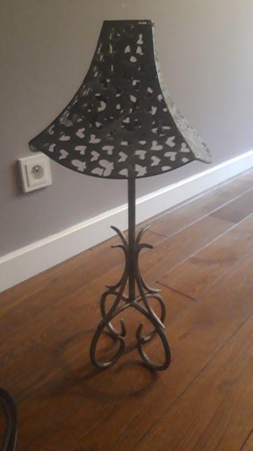 Promocja!Metalowa lampa na świeczkę
