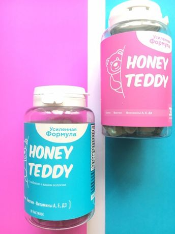 Витамины для здоровья волос HoneyTeddyHair