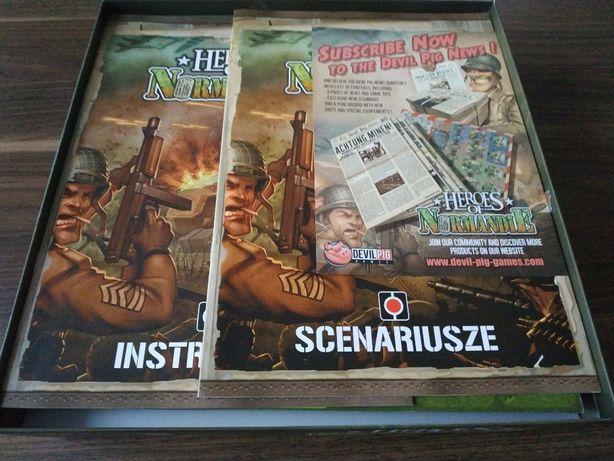 Gra planszowa Heroes of Normandie PL - wojenna gra dla dwóch osób