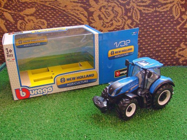 Bburago Traktor New Holland T7.315 skala 1:32 OKAZJA! (opis)