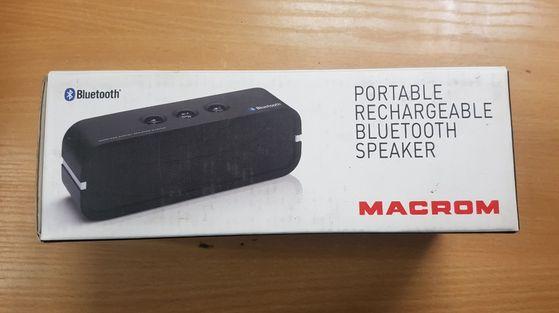Głośnik przenośny Macrom M-BTP20.B Bluetooth ! Lombard Dębica
