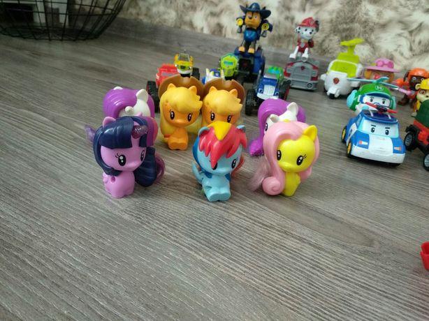 My little pony, пони, поняшки, единорог, Шиммер Шайн,герои в масках