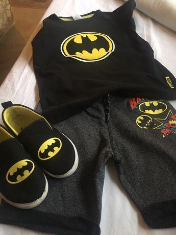 Conjunto Batman (Tshirt, Calçao e Vans€