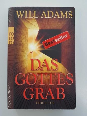 "Książka po niemiecku ""Das Gottes Grab"" - Will Adams - bestseller"