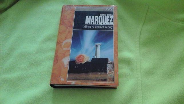 Miłość w czasach zarazy Gabriel García Márquez oprawa twarda