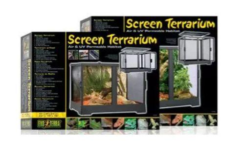 Exo Terra Screen Terrarium Siatkowe 45x45x45cm Nowe