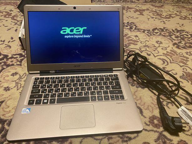 Ультрабук  ноутбук Acer Aspire S3/обмін в описі