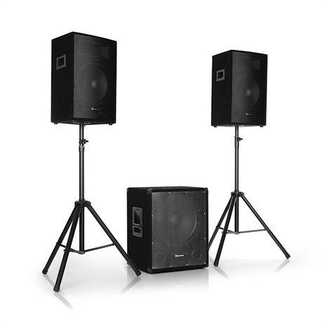Cube 1512 2.1 Aktywny zestaw nagłośnieniowy Głośniki kolumny głośnik