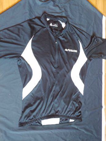 Koszulka kolarska rowerowa Airtracks L czarna