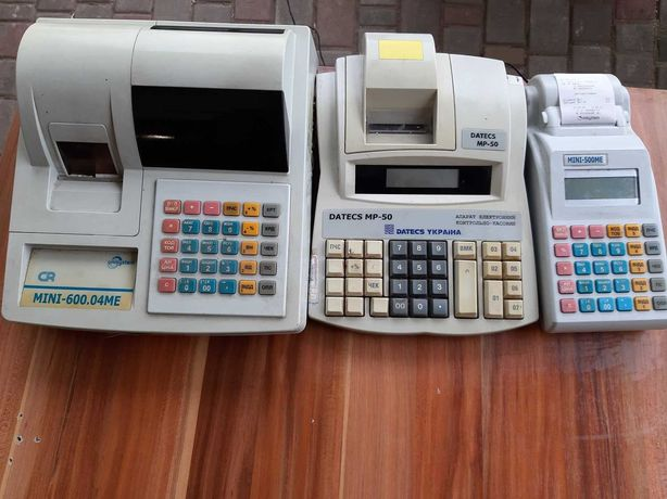 Кассовые аппараты Datecs, Mini и тд.