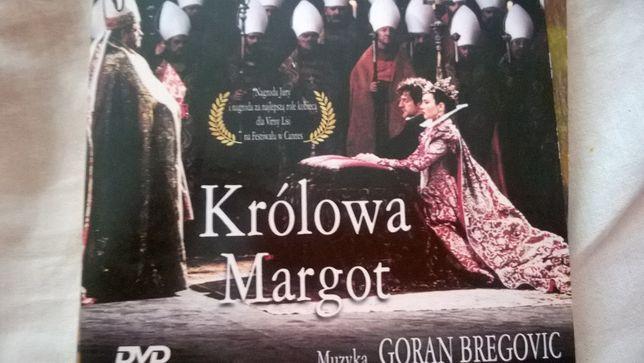 Królowa Margot DVD Film Patrice Chereau Muzyka Goran Bregovic