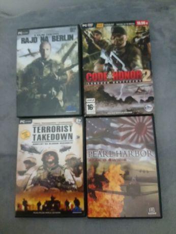 Zestaw 4 gier na pc o tematyce wojennej