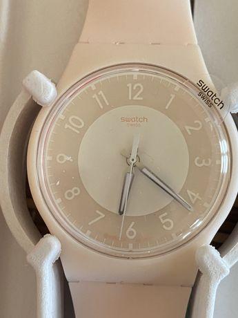 Relógio novo e selado Swatch Pay Rosa