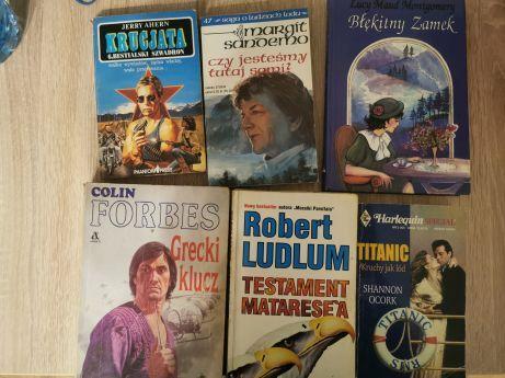 Zestaw 5szt.książek za 5zł - 1 zł każda :)