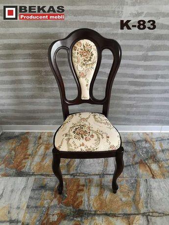 Prześliczne Drewniane Krzesło K83 od Producent Bekas Dostawa