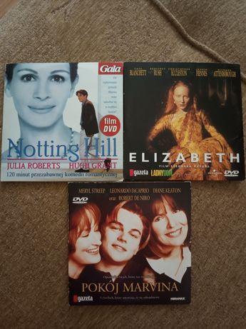 Płyty DVD Notting Hill, Elizabeth, Pokój Marvina