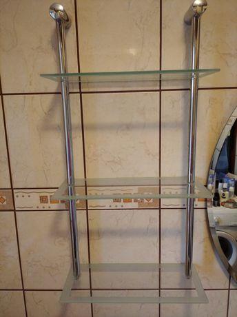 Półka wisząca szklana
