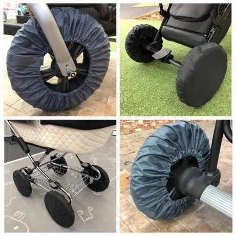 Чехлы на колеса, на все виды колясок. Непромокаемые, не шуршат