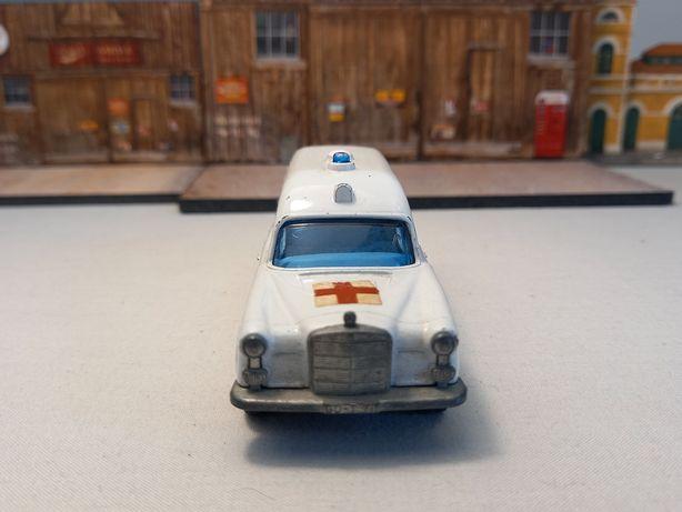 Carro em miniatura Matchbox Lesney Speed Kings K63 Mercedes Benz 1977.