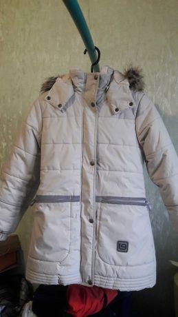 Пальто зимнее,куртка Lenne