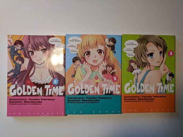 Golden Time manga tomy 1-3