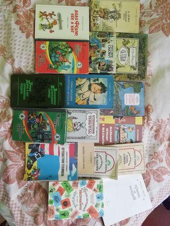 Классическая детская литература 80х годов издания.