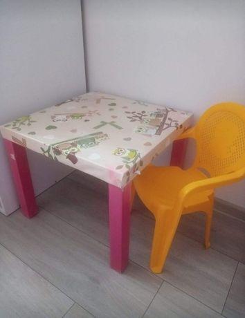Oddam stolik i krzesełko