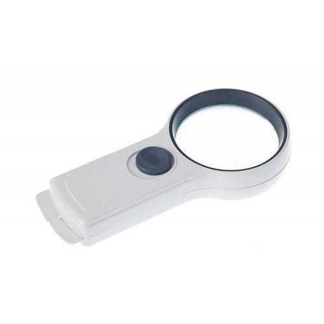 Ручная лупа Magnifier L 65мм/4х с LED-подсветкой
