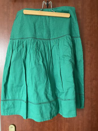Zielona spodniczka