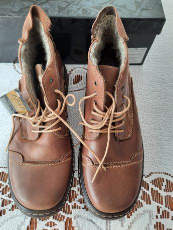 Nowe buty zimowe skóra naturalna roz.44