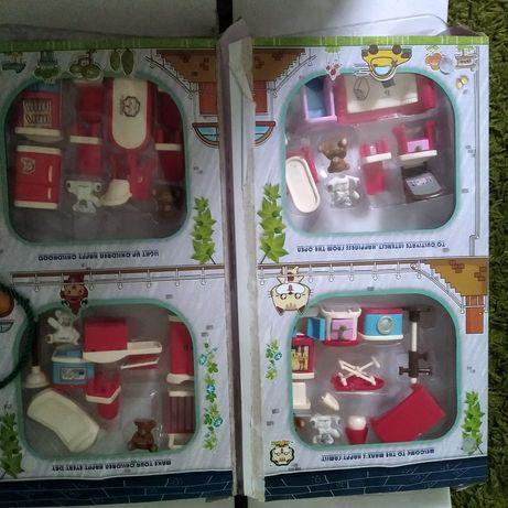 Игровой набор мишки Manx happy family