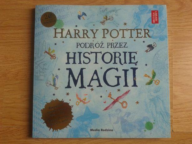Książka album Harry Potter Podróż przez Historię Magii dla fanów super