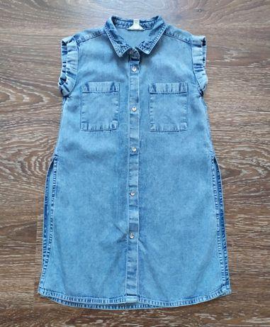 Стильна джинсова сорочка River Island 4-5 років