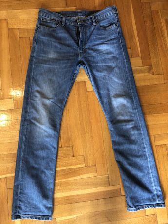 Spodnie meskie jeansy Levis 513 rozmiar 33 32