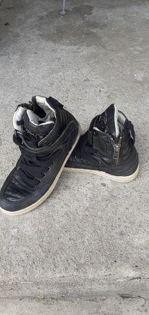 Ботинки кожаные на мальчика