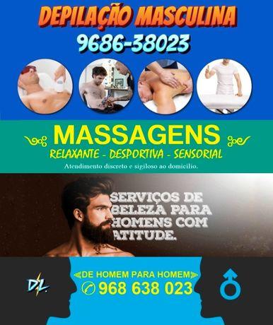 DEPILAÇÃO Masculina e Massagem