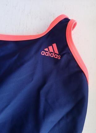 Спортивный  сплошной купальник Adidas evr 38 размер