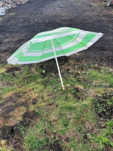Parasol ogrodowe zielone
