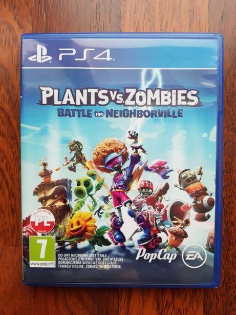 Plants vs Zombies Battle for Neighborville gra PS4
