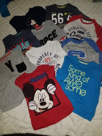 Koszulki bluzki Reserved zestaw