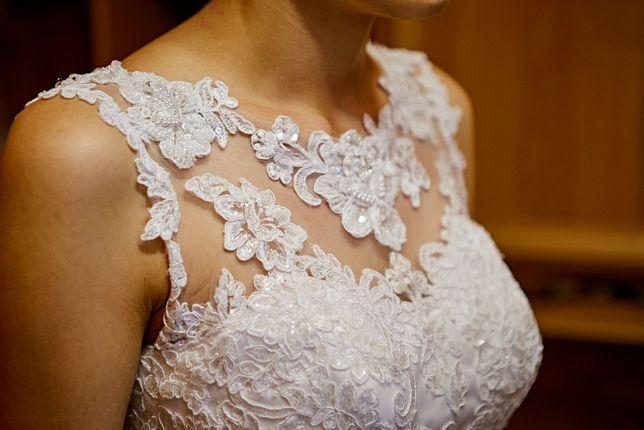 Suknia ślubna wzór White One Jill 38