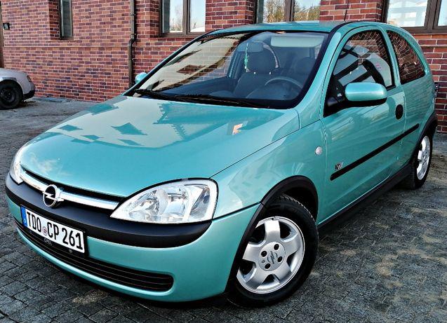 Śliczny Opel Corsa 2003 Benzynka *Klima*Alu*OPŁACONA!
