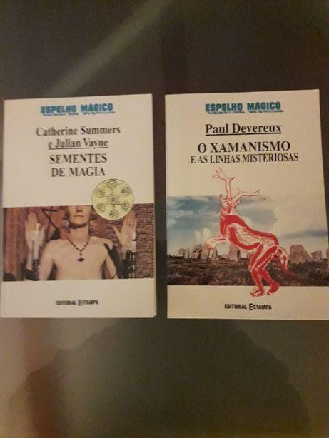 Conjunto de 2 livros da Coleção Espelho Mágico, Editorial Estampa