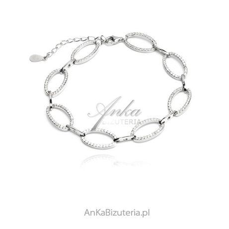 ankabizuteria.pl długi łańcuszek z pełnym sercem srebrne Filigranowa w